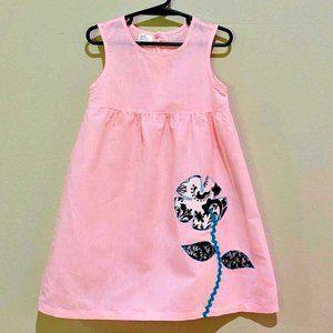 Other - Girl's Pale Pink Dress Size 3T Sundress Sleeveless